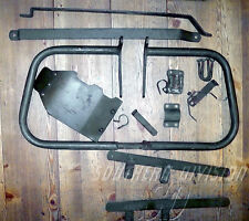 TRIUMPH 3ta t35wd genuine parts engine shield Crash Bar Carrier mountings-ARMY