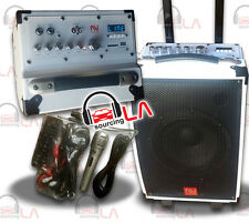 "Nutek Ts-20108B-2 8"" Bluetooth Portable Powered Speaker System"