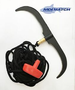 """MDI Match Fishing 9"""" Double Weed Cutter with or without 5m Lanyard"""