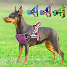 Front Leading Dog Harness No Pull Reflective Small Large Adjustable Padded Vest
