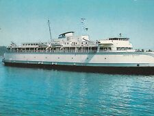 "*Canada Postcard-""M.V. Queen Ferry of Saanich"" Province British Columbia(U2-214)"