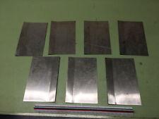 16 gauge Stainless steel sheet metal scrap 304/316 (HHO)(TIG/MIG) 7 pcs