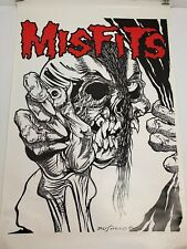 Misfits Poster - Pushead - Printed in the 80's - RARE