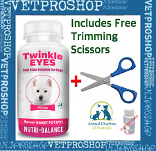 TWINKLE EYES Tear Stain Remover For Dogs - SWEET POTATO 40g Pink