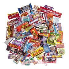 28 aus 180 american sweets für den Superbowl aussuchen  (20,83€/kg)