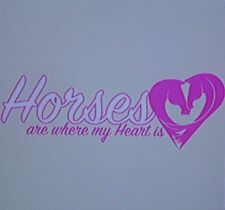 """""""Horses Are Where My Heart Is"""" T-Shirt. 18276"""