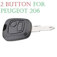 2 Button Remote Key Fob Case For Peugeot 106 206 306 405