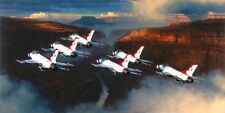 Thunder In The Canyon [F-16 Viper] CANVAS William S Phillips -USAF Thunderbirds