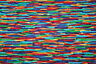 MULTICOLORED ON THE EDGE FROM HOFFMAN - 100% COTTON FABRIC