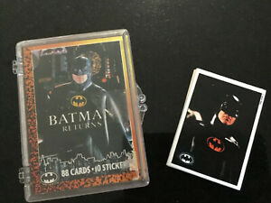 Batman Returns Full Set Of 88 Collector Cards And 10 Stickers - 1992