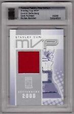 HENRIK ZETTERBERG 10/11 ITG Famous Fabrics Jersey #9/9 SP Rare Stanley Cup MVP