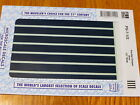 """Microscale Decal PS-7-1/2 Parallel Stripes 1/2"""" Wide Blue"""