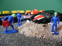 Figuren Feuerwehr 3er TOP DEKO für Carrera Digital oder Servo              77655