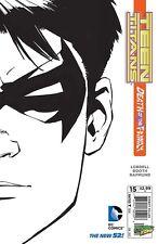 TEEN TITANS #15 - DIE CUT JOKER COVER - DEATH OF THE FAMILY variant