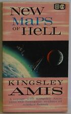 New Maps of Hell Kingsley Amis fantastic realms of science fiction Pulp 1963 PB