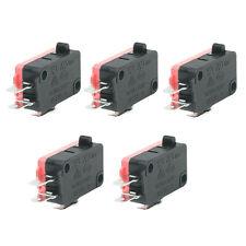 16A 250VAC 4A 250VAC Srew Connector Actuator Limit Micro Switch 5 Pcs
