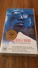 MURDER AT 1600 WESLEY SNIPES, DIANE LANE VHS VIDEO 1997