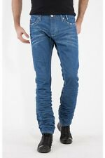 MENS REDBRIDGE JEANS BY CIPO & BAXX JEANS REGULAR FIT STONEWASH WAIST 32 LEG 32