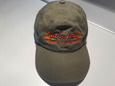Burner Fire Control Hat Strap-Back Embroidered NEW 100% Cotton