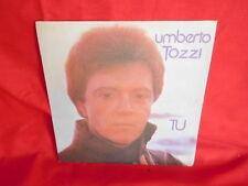 UMBERTO TOZZI Tu + Perdendo Anna 45rpm 7' SOLO COPERTINA NO DISCO 1978 ITALY EX