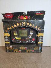 Vintage Video Electronic Draw Poker 5 In 1 Caesars Palace Handheld Game