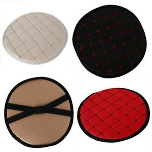 Round Bistro Circular Chair Cushion Seat Pads Kitchen Dining Removable Cover IT