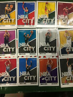 2019-20 Basketball Panini Hoops NBA City Insert (Pick your card from list) 1-30