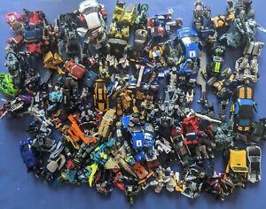 TRANSFORMERS MOVIE FIGURES MASSIVE LOT Autobot Decepticon Optimus Prime Megatron