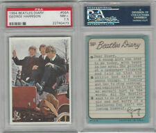 1964 Topps, Beatles Diary, #56A George Harrison, PSA 7.5 NM+