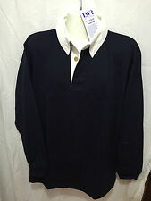 BNWT Mens Sz XXL - Ladies Sz 22 LW Reid Brand Navy Blue Long Sleeve Rugby Jumper