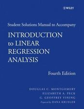 Introduction to Linear Regression Analysis, 4th edition Student Solutions Manual