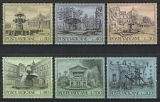 VATICANO/VATICAN 1975 MNH SC.573/578 Fountains of Rome