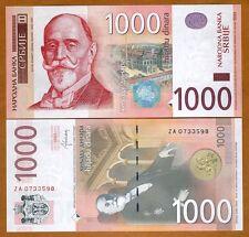 Serbia, 1000 Dinara, 2014, P-60r, UNC > ZA Replacement