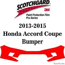 3M Scotchgard Paint Protection Film Pro Series Fits 2013 2015 Honda Accord Coupe