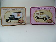 ERTL 1:43 Die Cast Campbell's 1930 Chevy Delivery Truck & 1932 Ford Panel Truck