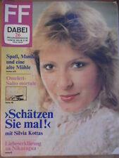 FF DABEI 26 - 1983 * TV 20.-26.6. Silvia Kottas >Schätzen Sie mal!< Jazz-Bühne