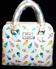 Loungefly Disney Princess Ice Cream Crossbody Bag Purse Satchel NWT! Sold Out!!