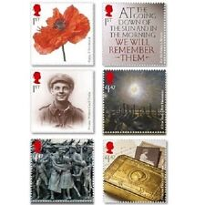 UK First World War 1914 Stamp Set 2014