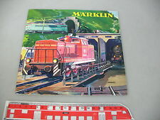 AF586-0,5# Märklin Katalog 1963/64 E $, TOP mit Gutschein (H0, 8000 er, Metal)