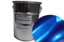 0,5 Liter Basislack Spritzfertigen Candy Blau 2 Metallic Autolack Lackpoint !