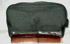 Kiehl's  Black Man's  Cosmetic Bag  + Comb Limited Edition Design Kate Moross