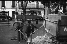 SAINT JEAN DE LUZ 1935 - Nettoyage après Fête - 6 Négatifs 24x36 - 122-26-31