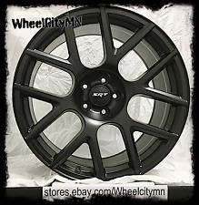 20 inch satin black 2015 Dodge Challenger Scat Pack SRT OE replica wheels 5x115