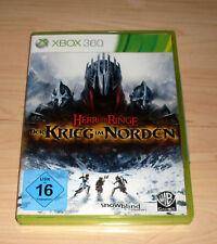 Microsoft XBox 360 Spiel Game - Der Herr der Ringe - Der Krieg im Norden