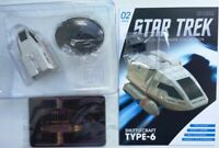 Star Trek TYPE-6 shuttle #2 von USS Enterprise NCC 1701 D Eaglemoss engl. Magazi