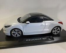 1 18 NOREV Peugeot RCZ Mi-vie 2012 Whitemetallic/black