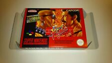 Final Fight - PAL  - Super nintendo - Snes - Only Box