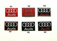Audi Logo Car Sports Racing Iron Sew On Patch Jacket Jeans Leather Best Quality