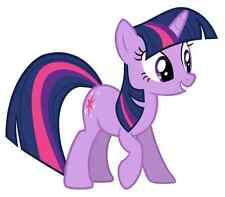 "Twilight Sparkle My Little Pony Iron On Transfer 5""x5.75"" for LIGHT Fabric"
