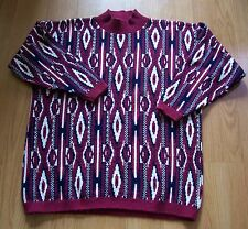 J C & Louis-NEW YORK Southwest Motif Pullover Sweater-USA XL? see measurements